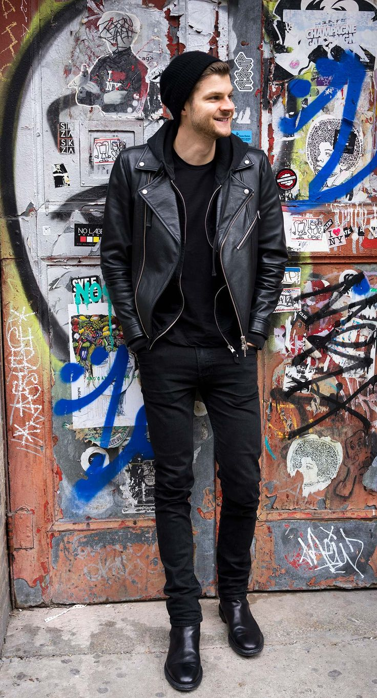 Jim Chapman - All black amazing look