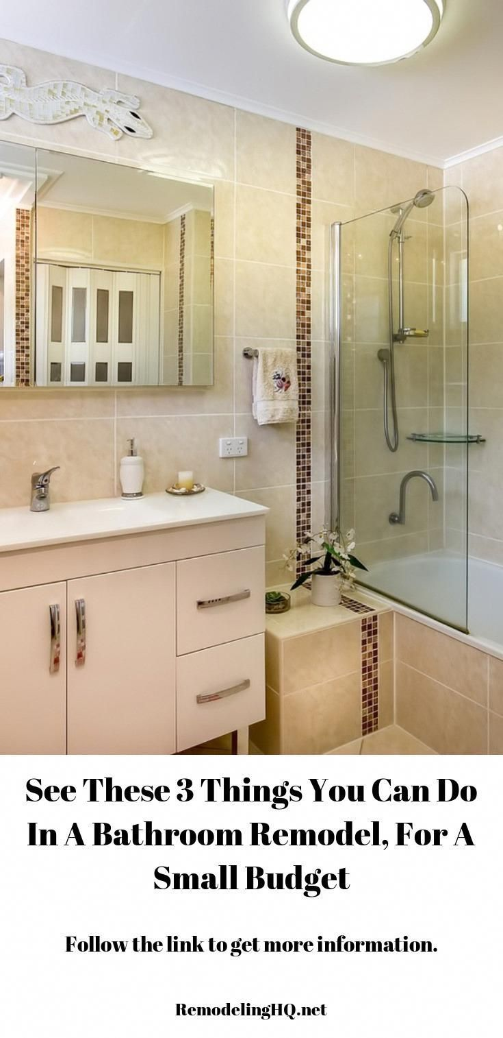 Modernize Your Bathroom With These Quick Fix Ups Remodelacion Bathrooms Remodel Bathroom Renovations Simple Bathroom