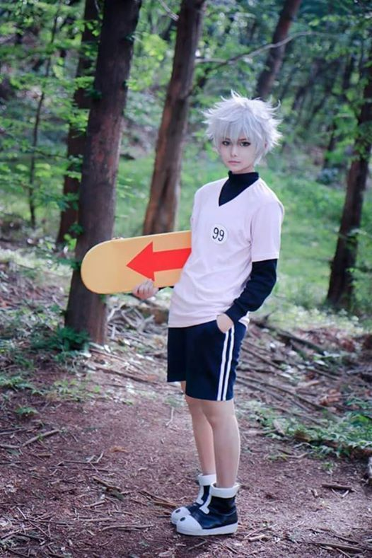 Killua Cosplay *^* lately obsessed with Hunter x Hunter omg