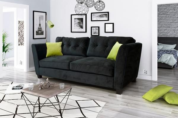 The Cantbery 3 Seater Sofa Fabric Adds Life To Any 3 Seater Sofa With Its Soft Velvety Texture And Durable Construction Sofa 3 Seater Sofa Seater Sofa
