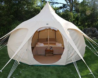 DOUBLE WALL Bell Tent for Glamping16 ft roundFestival