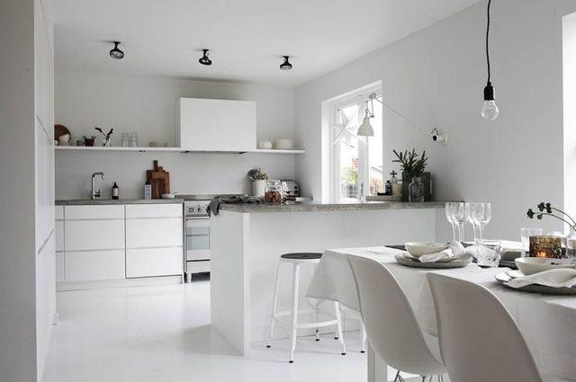 House of C | Interior blog: A black & white Christmas home