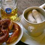 Weisswurstfrühstück - original bayerisch und nur vor 12 Uhr mittags