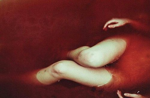 blood, red, and bath image