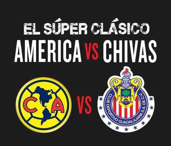 Clásico Chivas VS América - Reservaciones abiertas para este Domingo 26/04/215 a las 6:http://goo.gl/4uQJbh. al Whatsapp 3471090416