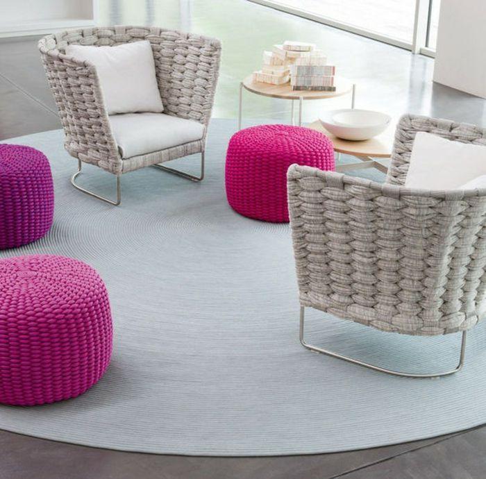 m bel aus polyrattan einige zauberhafte varianten meubles pinterest polyrattan sessel. Black Bedroom Furniture Sets. Home Design Ideas
