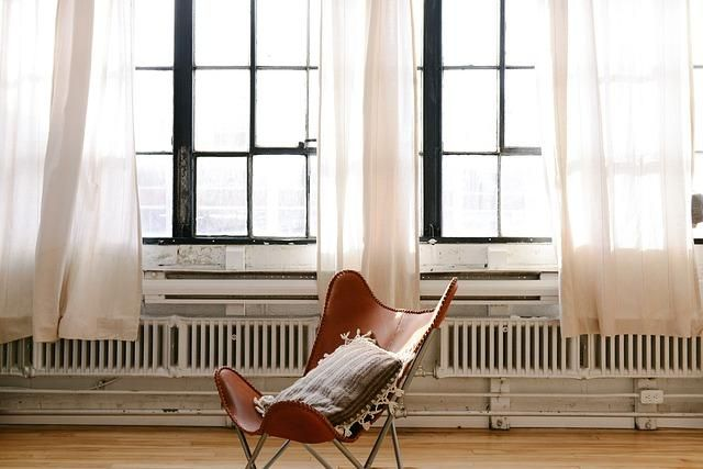 How To Hang Net Curtains Bay Window
