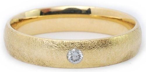 1 Eheringe Trauringe Verlobungsring Rotgold 750 - DR mit Brillant R021 in Uhren & Schmuck, Hochzeitsschmuck, Trauringe | eBay