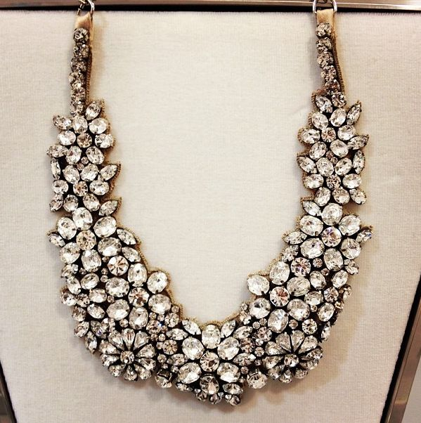 bejeweled statement necklace