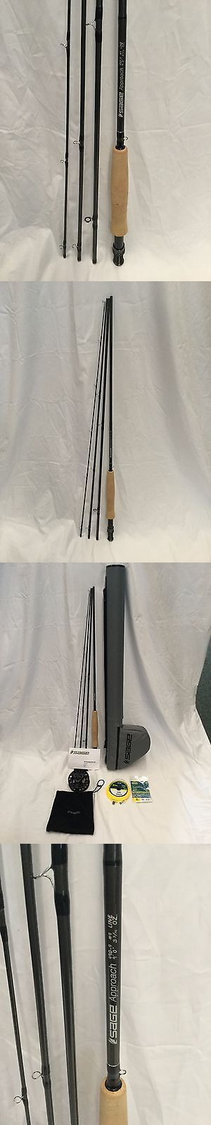 Fly Fishing Combos 33973: Sage 490-4 Approach Rod/Reel/Line-Outfit, (9 Ft, 4 Wt, 4 Pc) - Msrp $475 -> BUY IT NOW ONLY: $319.96 on eBay!
