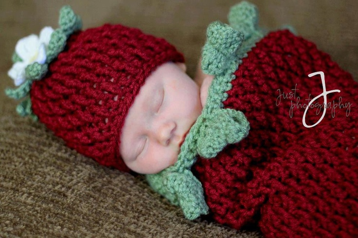 Crochet Pattern for Berrylicious Strawberry Cocoon - 5 ...