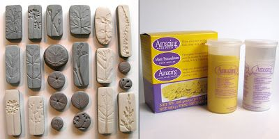Tutorial -Making her 'ugly' molds for her Rustic Nature Polymer Clay Pendants