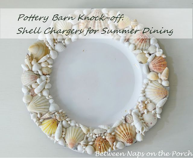 Beach House Decor Front Porch | Love seashell crafts? Here's a quick tutorial for making shell ...