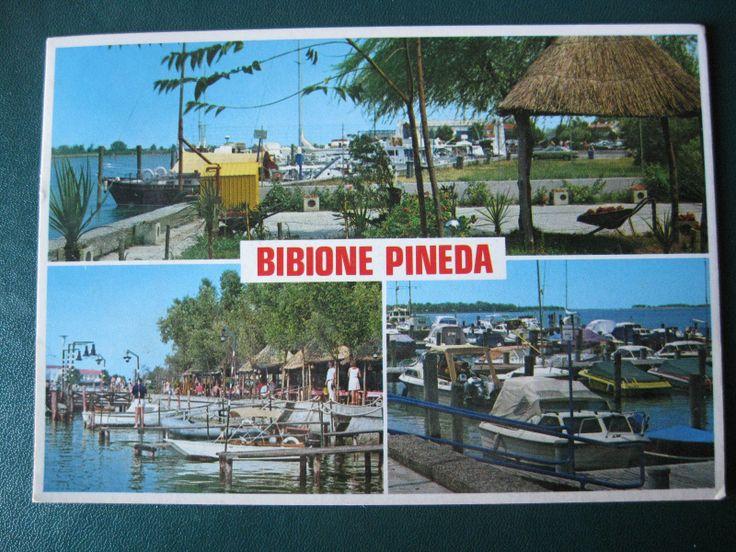 Italy Bibione Pineda Used Vintage Postcard   eBay