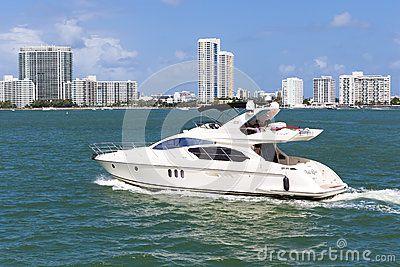 Small Yacht Docked Stock Photo - Image: 50269289
