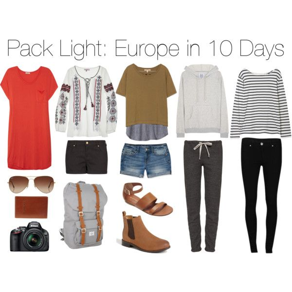 Exceptional Pack Light: Europe In 10 Days | Clothing | Pinterest | Packing Light,  Lights And Wardrobes. Nice Ideas