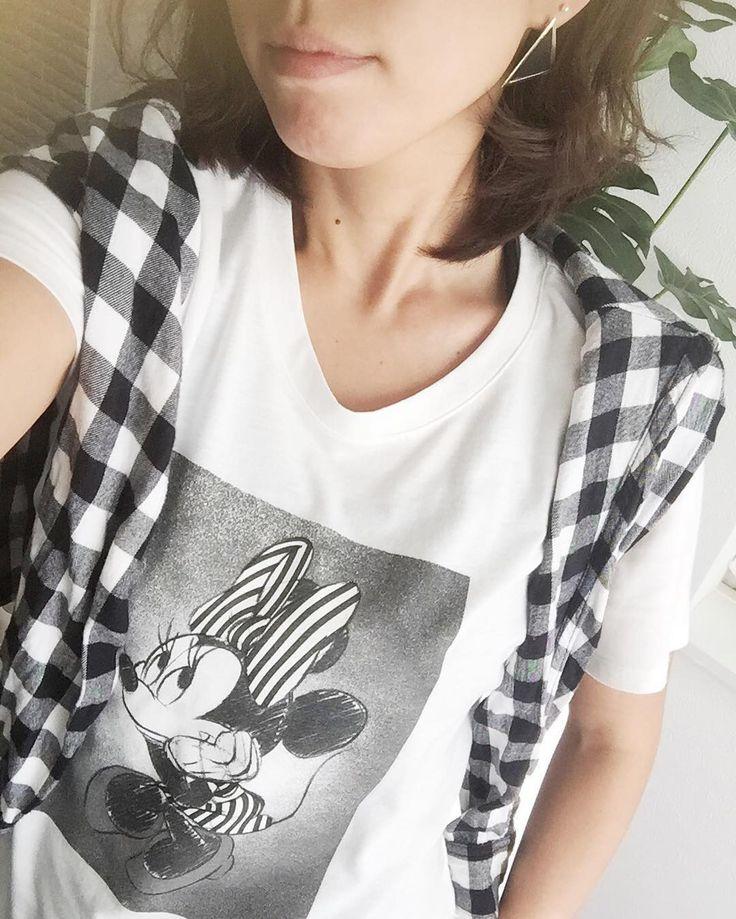今日は定休日 やりたかった事色々出来た(O) 明日からまたご来店お待ちしております  #吹田市関大前セレクトショップ #吹田市セレクトショップ #吹田市セレクトショップアンスリール #吹田市関大前駅セレクトショップ  #もうすぐアラサー #woman #tshirt #ミニーちゃん #T-shirt #ディズニー