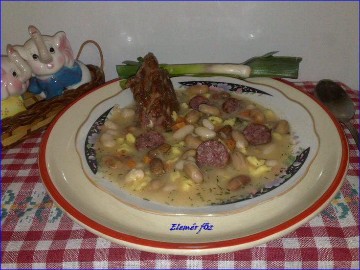 Egy tányér kapros bableves ~~ receptek365.info