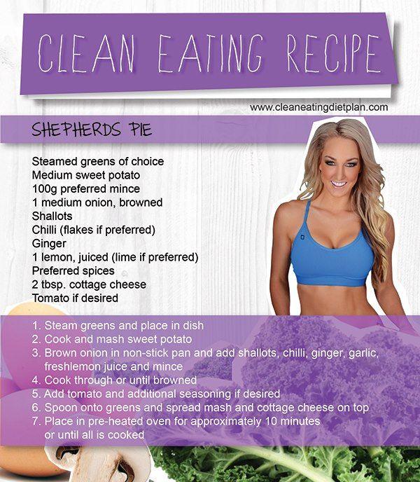 Shepherds Pie - Ashy Bines Clean Diet Plan Facebook