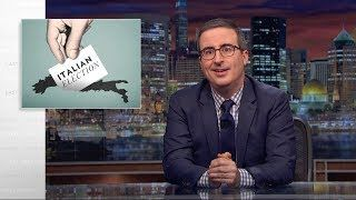 John Oliver is running for prime minister of Italy - BTW  Italy's government changes a lot. In the past 70 years or so, it's seen a staggering 60 different governments, and with that much change, it's hard for a prime minister to gain much footing. Since the current prime minister is giving an unremarkable performance, it's safe to assume that the upcoming election will see a new candidate voted into office—but there's a problem. Everyone currently interested in running is… eccentric, to say…