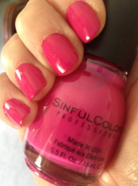 how to use sinful colors nail polish