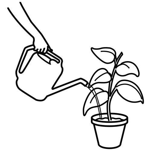 Risultati immagini per annaffiare disegno disegni e immagini for Disegno pagliaccio da colorare