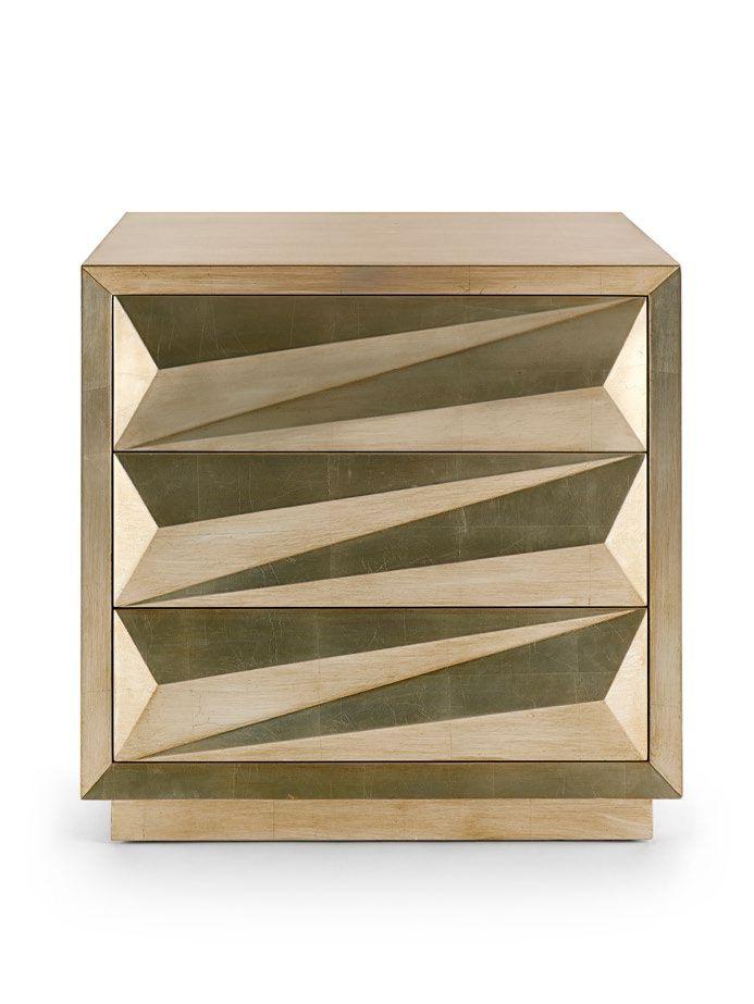 Karat Nightstand   Silver Leaf. Wooden FurnitureFurniture ...