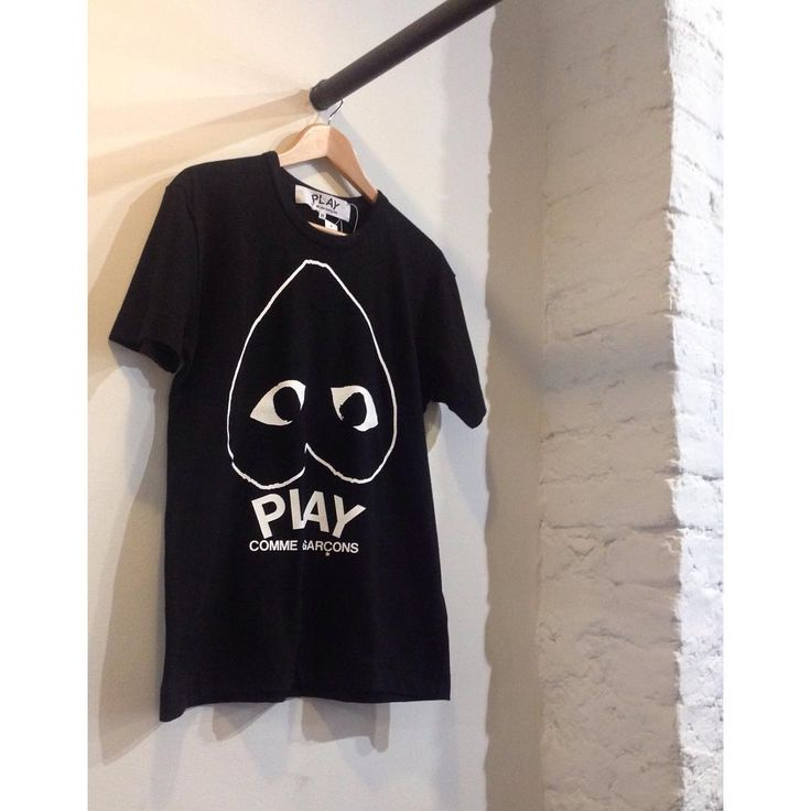 A few new t shirts have arrived from PLAY Comme Des Garçons for Autumn/Winter 15. This is one of our favourites. Available now in store and online soon at seftonfashion.com. S-XL, £75.  #cdg #comme #commedesgarcon #commedesgarcons #new #newcollection #aw15 #london #islington #man #men #clothing #menswear #footwear #fashion #seftonfashion #trainers #sneakers
