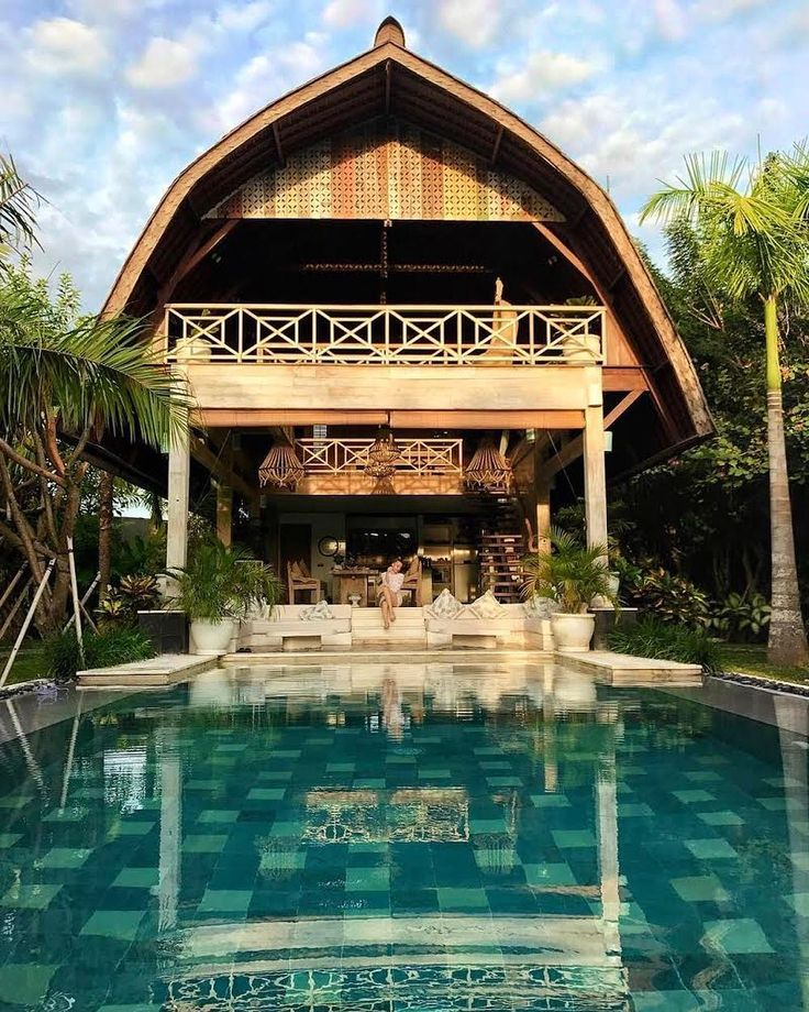 If this Balinese jungle oasis isn't the pure definition of paradise, we don't know what is. You won't regret skipping the beach crowds to bask in the quiet shade surrounding the villa, where the only sounds to interrupt your meditative reverie are the low coos of pink-headed fruit doves and the gentle sounds of water lapping at the sides of the pool. ⠀⠀ What's your idea of paradise? Tell us using #Airbnb. ⠀⠀ Photo: @estonianna