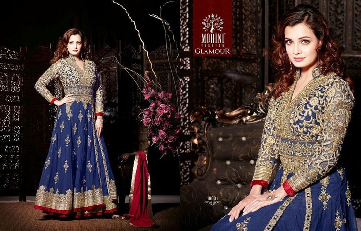 Indian Salwar Kameez Designer Anarkali Wedding Bollywood ethnic party 19001 #Unbranded #SalwarKameez