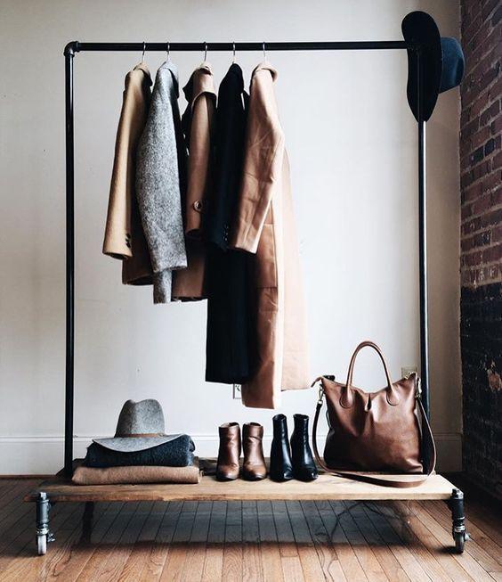 Wardrobe and closet inspiration! #closet #clothes #wardrobe #spring #organization #inspo