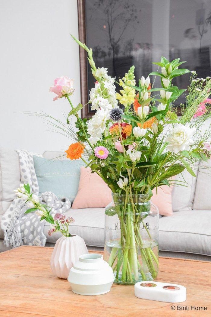 Styling en fotografie Bloomon Amsterdam bloemen ©Binti Home
