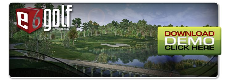 E6Golf by TruGolf : Simulator  Play Simulated Golf Courses using  FlightScope
