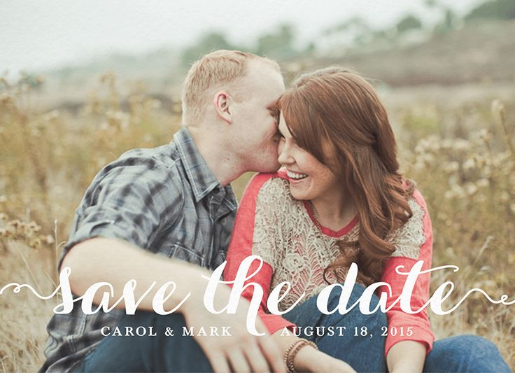 Love Is Sweet Save The Date card by August Press on Postable.com