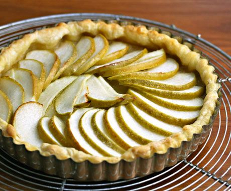 Quick and easy apple or pear tart recipe | Food | Pinterest