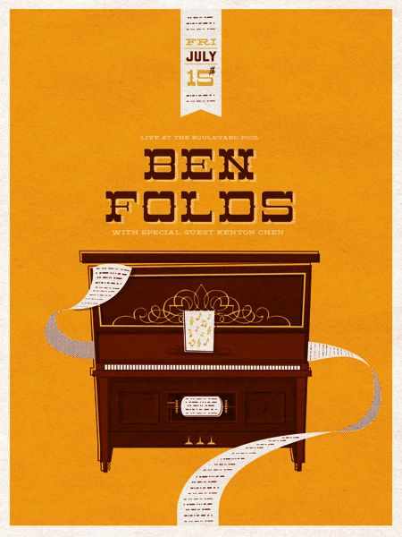 Ben Folds - would be nice to add this one to the collection...