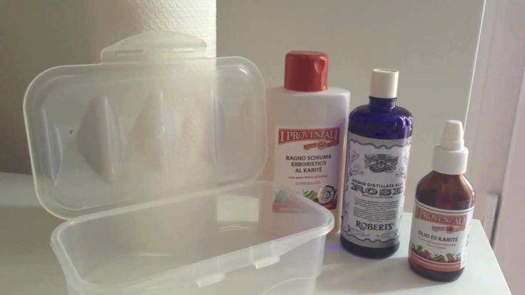 DIY - Salviettine umidificate fatte in casa - Baby Wipes