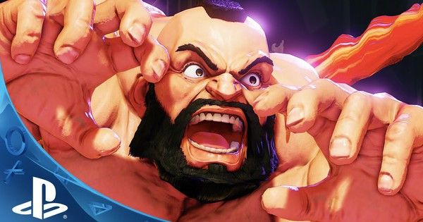 Street Fighter V (ANTICIPATED TO BE RATED MATURE) Adds Zangief
