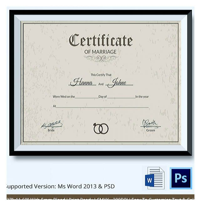Certificate template 149 pinterest designing using marriage certificate template for your own certificate marriage certificate template allows you yelopaper Images