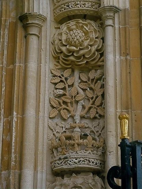 Cambridge King's College- tudor rose
