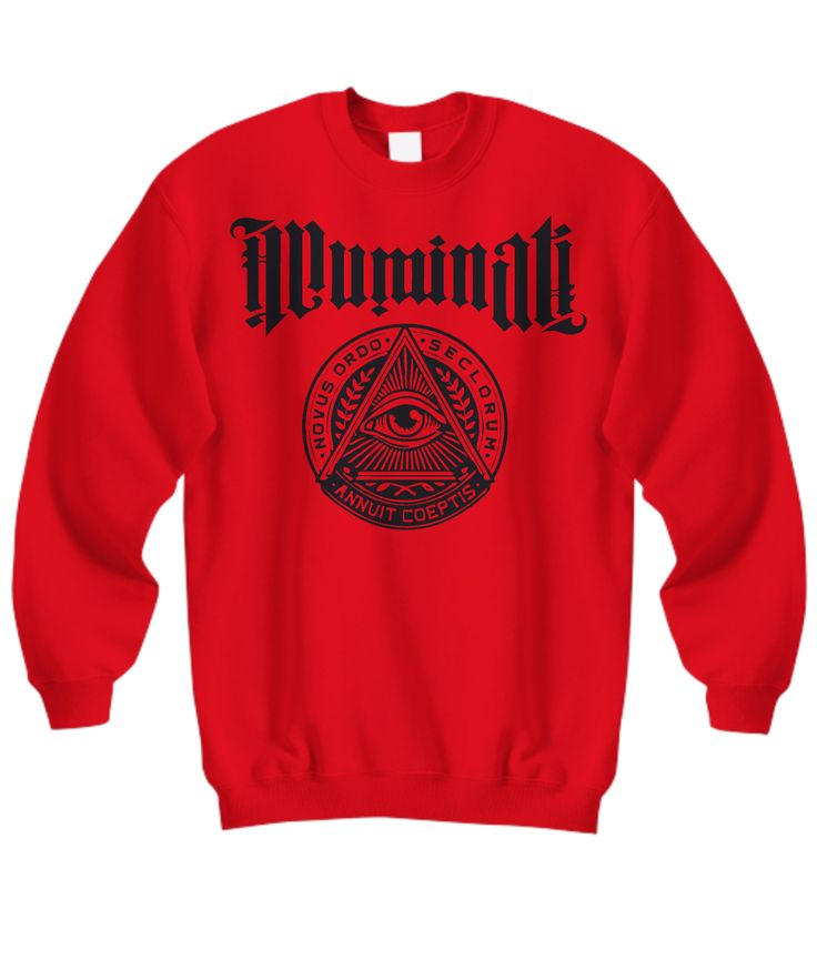 ILLUMINATI - Novus Ordo Seclorum sweatshirt 2  * JUST RELEASED *  Limited Time Only This item is NOT available in stores.  Guaranteed safe checkout: PAYPAL | VISA | MASTERCARD  Click PIC To Order Yours! (Printed, Made, And Shipped From The USA)