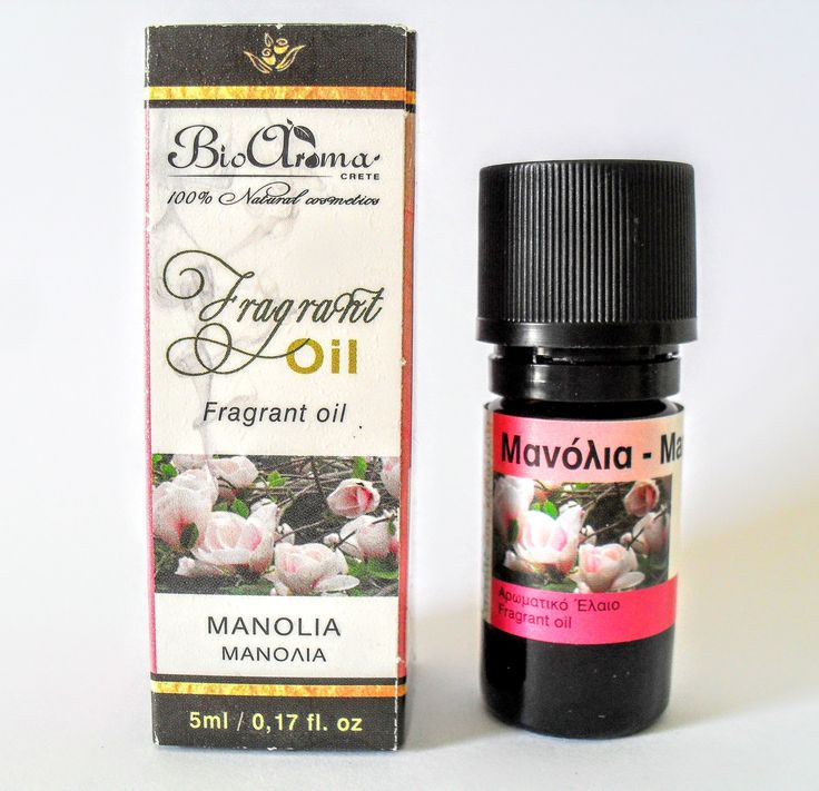 Manolia essential oil, for aromatherapy.