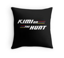 Kimi on the Hunt Throw Pillow