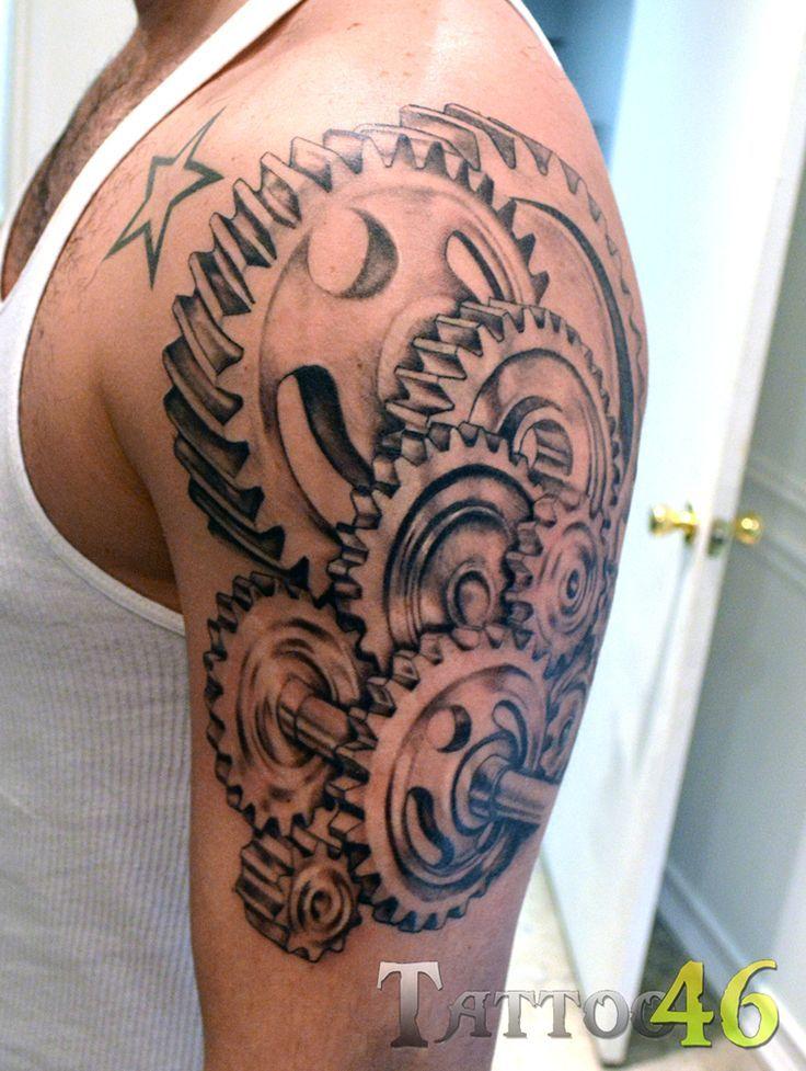 gear tattoos - Google Search