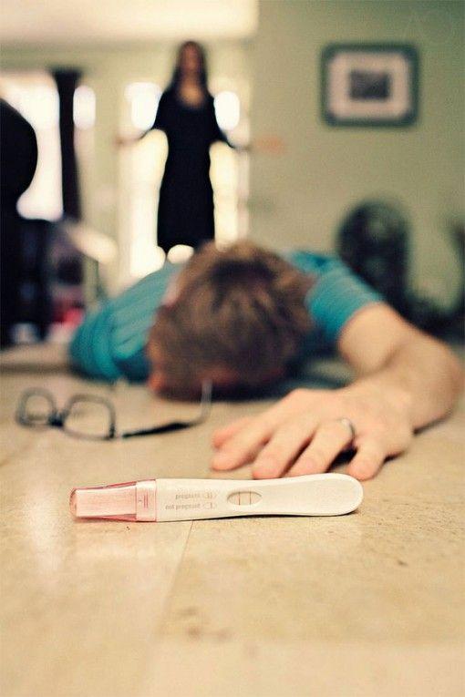 fotografías y formas creativas de anunciar un embarazo - ceslava