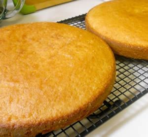 "Yellow Cake Recipe -  This is the all time favorite bakery cake that is sought after by millions, yet never replicated until now! This cake is light, airy, spongy, fine crumb and very delicious! You can now throw away all of your other recipes, because ""Houston, we Have lift off"" - http://www.woodlandbakeryblog.com/yellow-cake-recipe/"