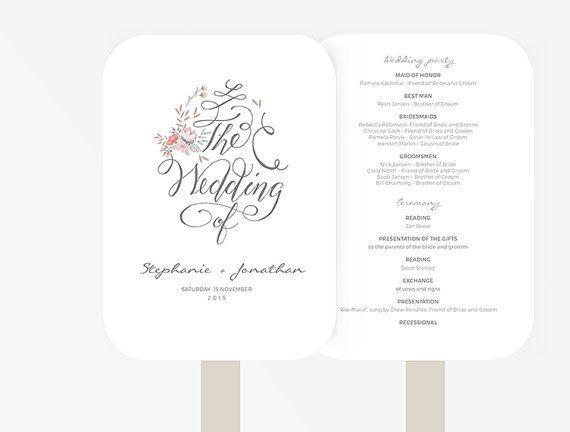 Best 25+ Program template ideas on Pinterest Wedding program - program templates word