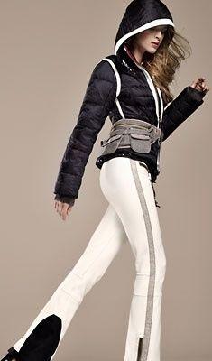 Wonder what the belt is for... #ski #fashion #helmethuggers www.helmethuggers.com/shop/dream-maker/