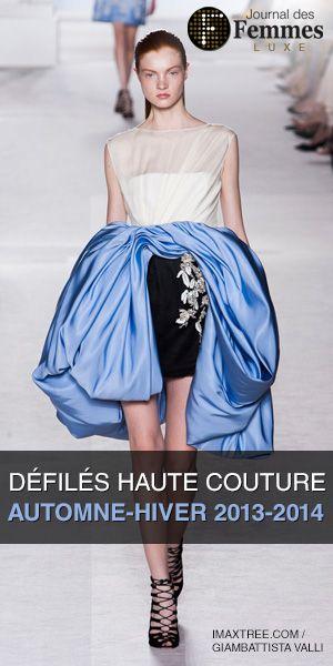 Fashion Week : défilés de mode prêt à porter et haute couture