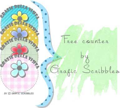 uattro contavisite free per il blog http://graficscribbles.blogspot.it/2014/06/contavisite-free-contatori-blog.html